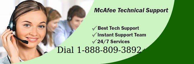 Mcafee Customer Service Number at 1-877-203-7198